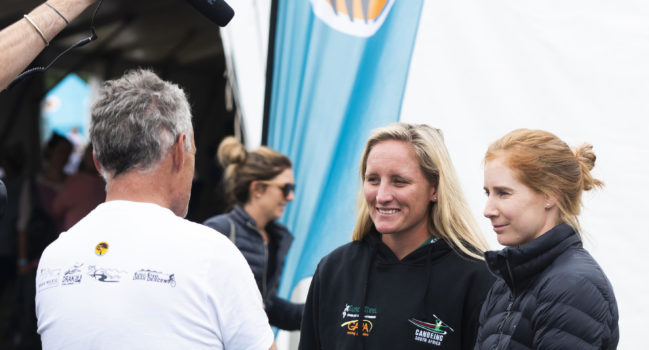Changing of the guard in Drak women's race