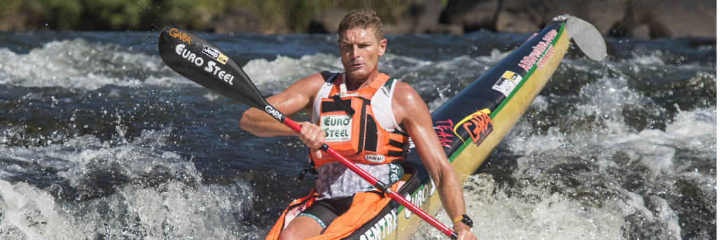 Hank McGregor means business at Drak Challenge